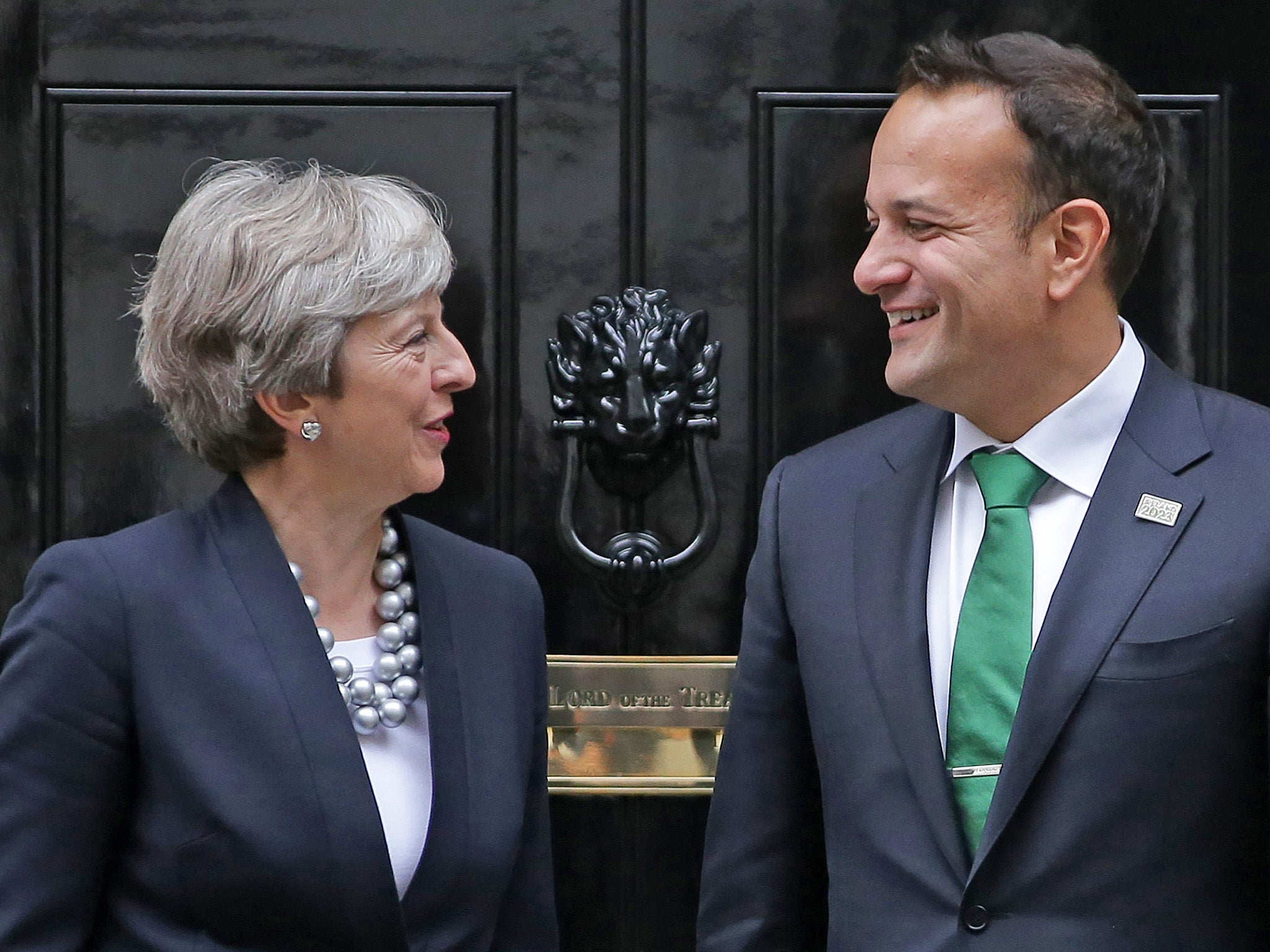 Britain has agreed a deal on Northern Ireland border, EU tells its MEPs