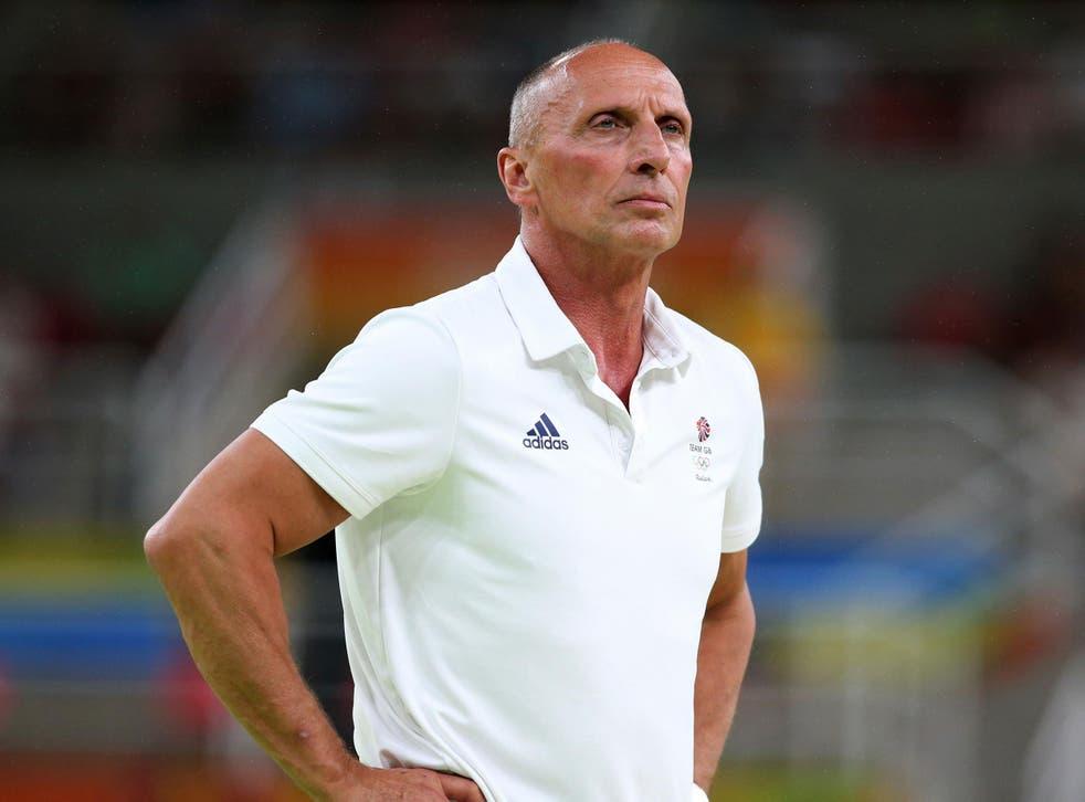 Van Hoof has been suspended by British Gymnastics