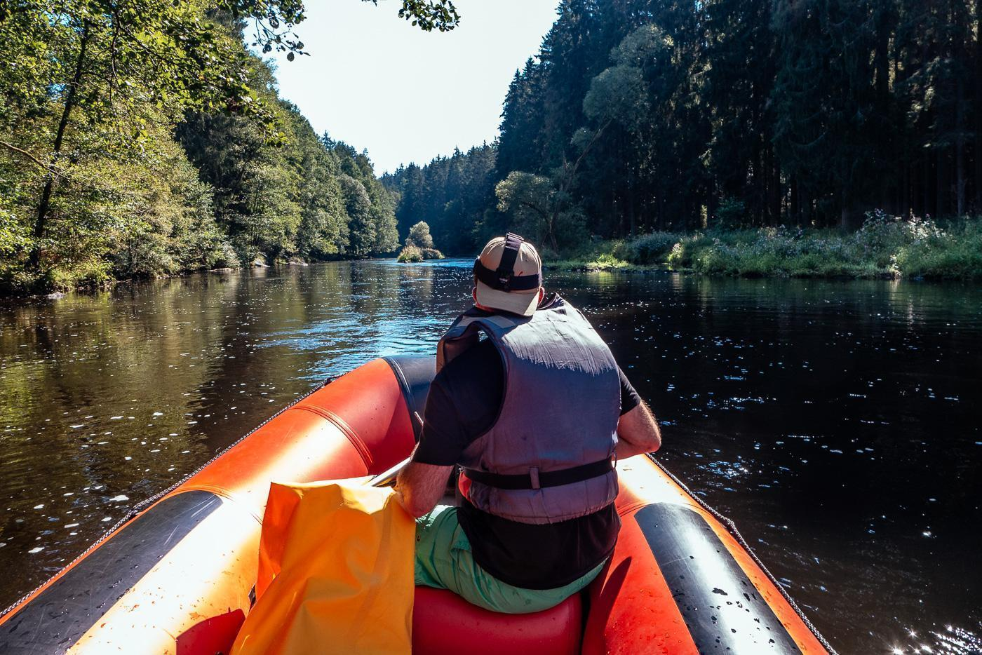 How to get a real Czech experience rafting down the Vltava River