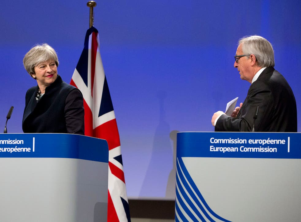 Theresa May has told EU leaders, including European Commission President Jean-Claude Juncker, that the UK will be leaving the single market