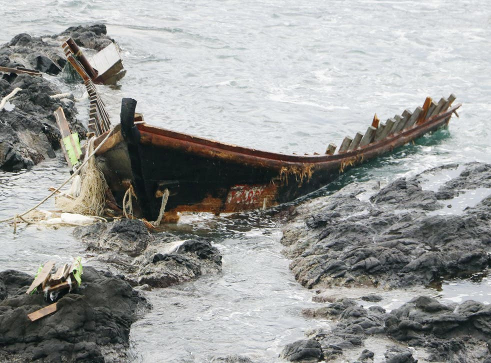 Strong winds and tides regularly push boats onto Japan's northern coasts, with North Korean boats being particularly vulnerable