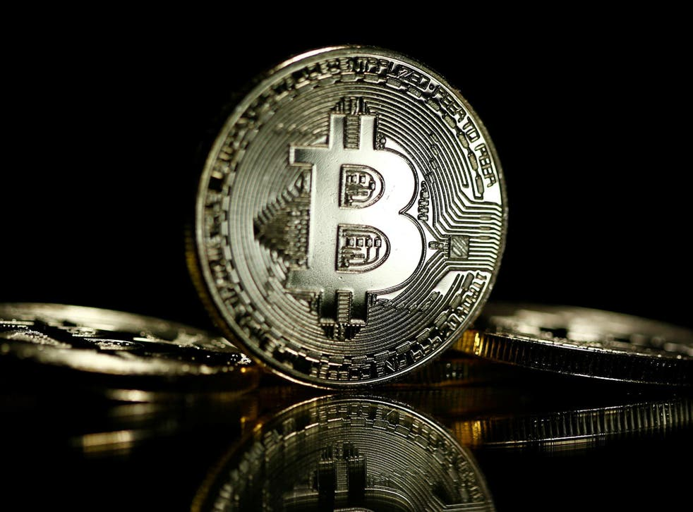 Bitcoins are seen in this illustration picture taken September 27, 2017