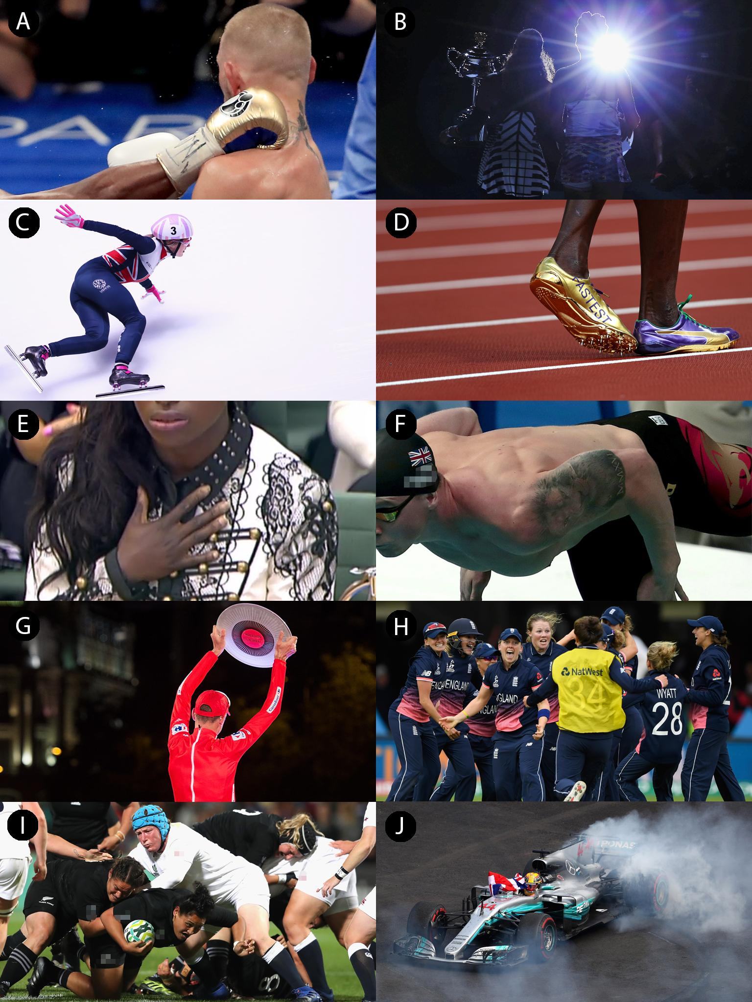 Picture Quiz of the Year 2017: Sport   The Independent