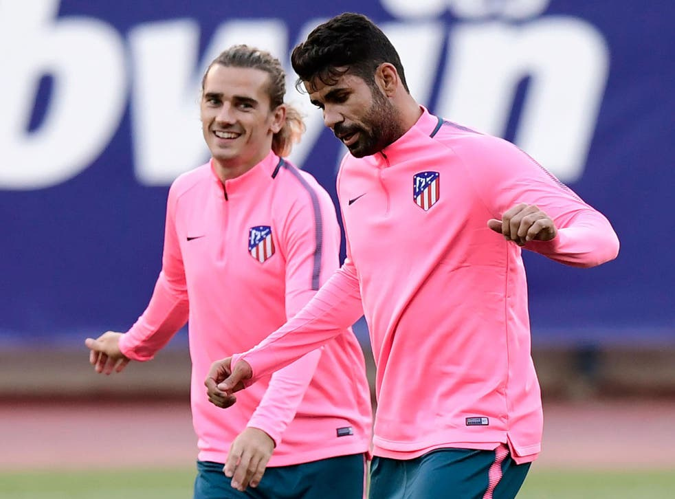 Diego Costa is ineligible to play for Atletico until January