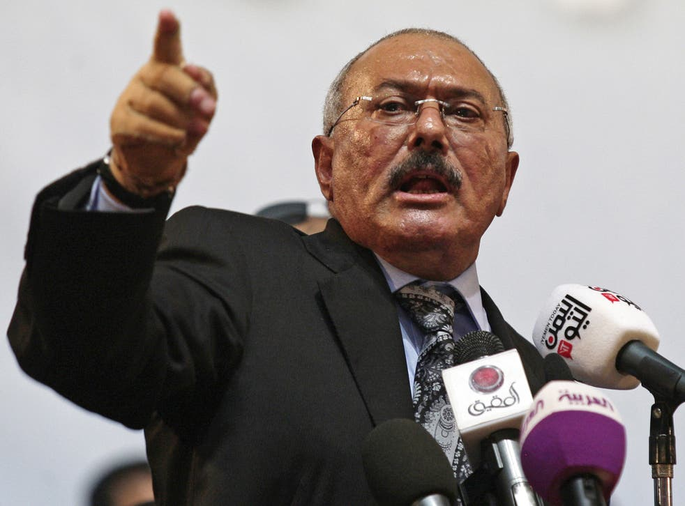 Saleh once described his job as 'dancing on the heads of snakes'