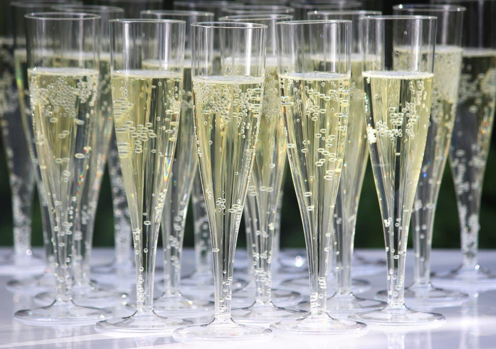 21709ab4c00 Champagne tastes different in plastic cups compared to glass flutes, study  finds