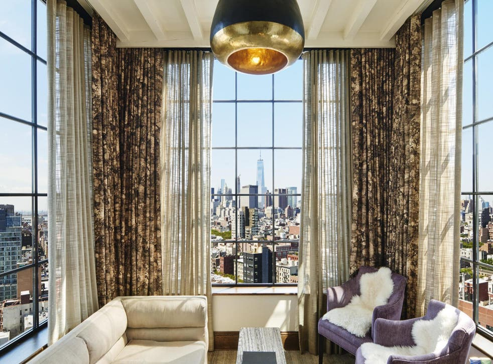 Room with a view: The Skybox at The Ludlow hotel in New York
