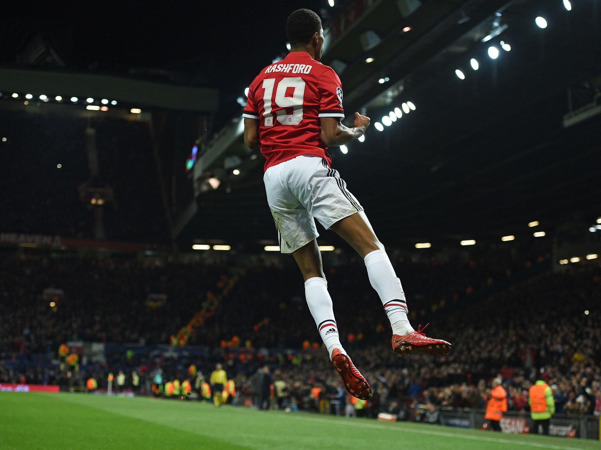 Marcus Rashford And Romelu Lukaku Fire Manchester United