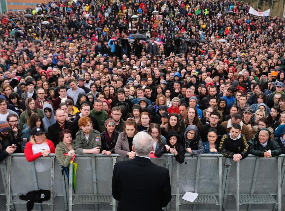 Jeremy Corbyn says Labour is the party 'for the many, not the few'. The HEPI/YouthSight survey will, for the most part, be music to his ears
