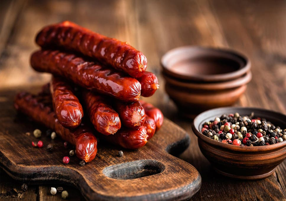 Sausages Contain Shocking Amount Of Salt Public Health