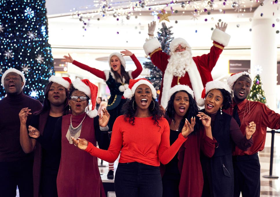 music and science combine to create the joyful track for choirs to perform at intu centres to make festive shoppers happier