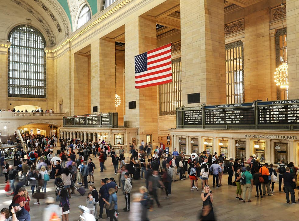 A fire broke out in the adjoining office building to Grand Central Terminal in New York City causing an evacuation.