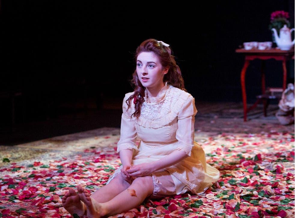 Venice van Someran as Margaret in 'Dear Brutus' at Southwark Playhouse