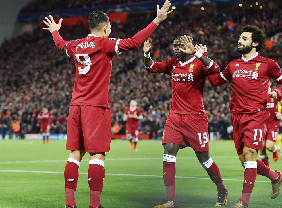 Firmino got Liverpool's third as the front four dominated