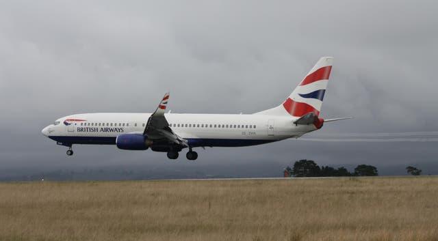 Comair flies under British Airways branding in South Africa