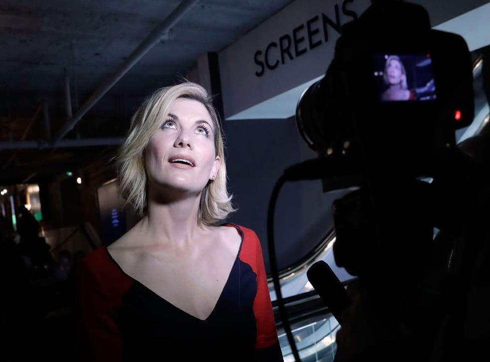 Jodie Whittaker at the 61st BFI London Film Festival