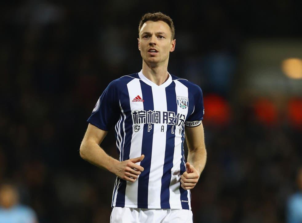 Jonny Evans looks set to leave West Brom