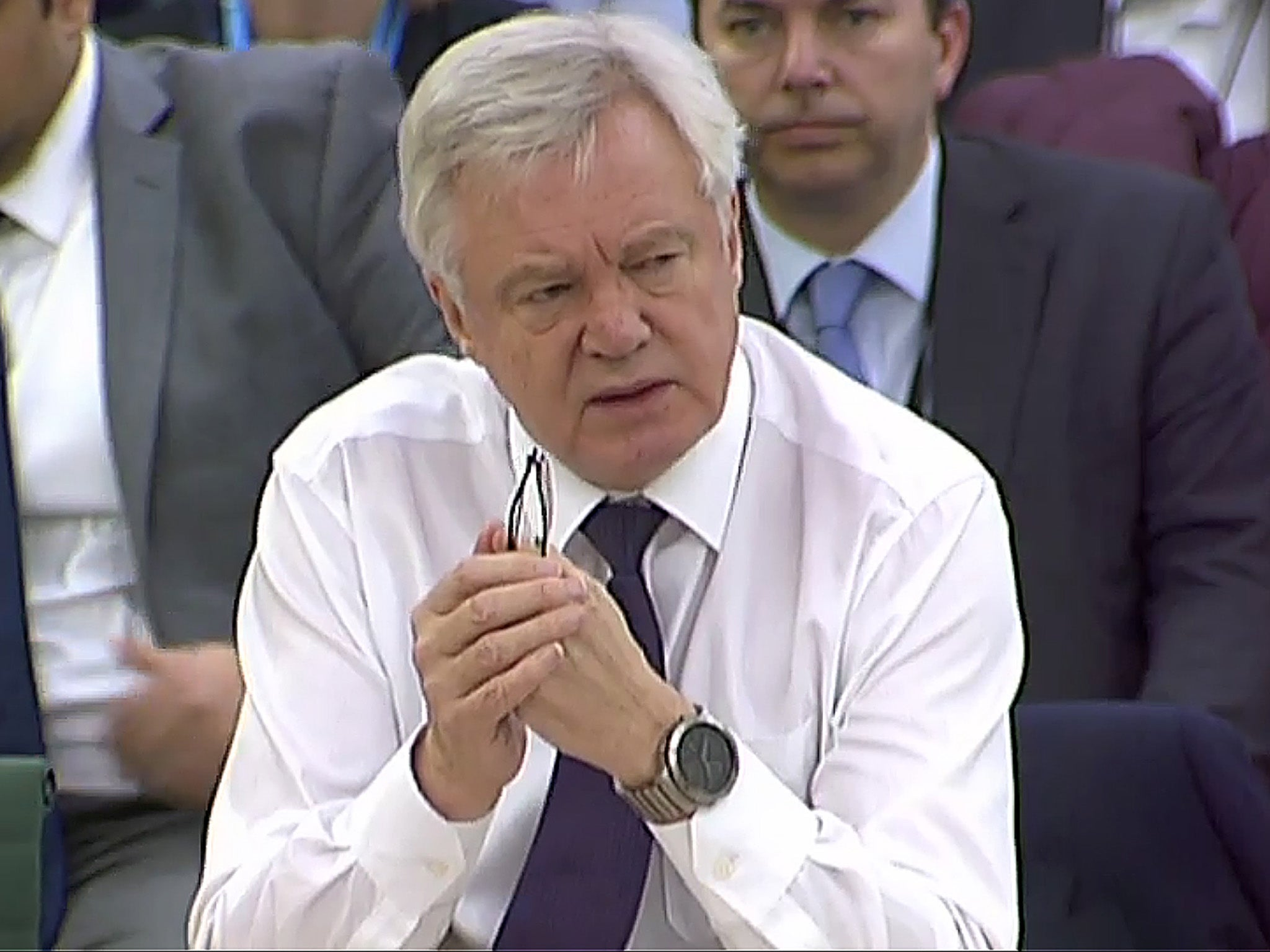 David Davis 'risks undermining good faith' in Brexit negotiations, angry European Parliament warns