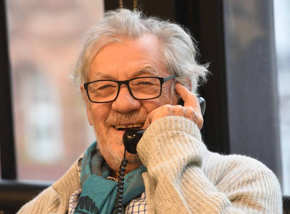 Sir Ian McKellen at the Help a Hungry Child Telethon