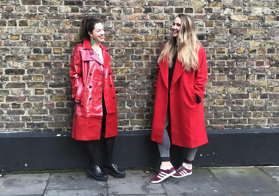 f475faf7c12 Can a red coat really make you more attractive  We put the theory to the  test