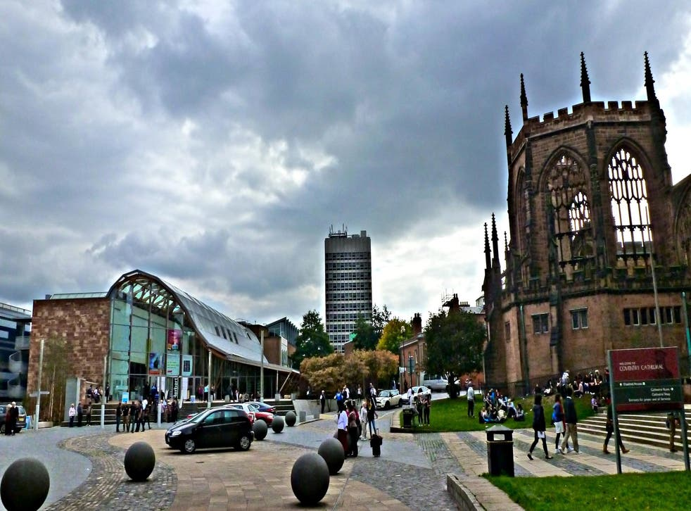 Coventry Cathedral (right) and the Herbert Art Gallery beside it are well worth a visit
