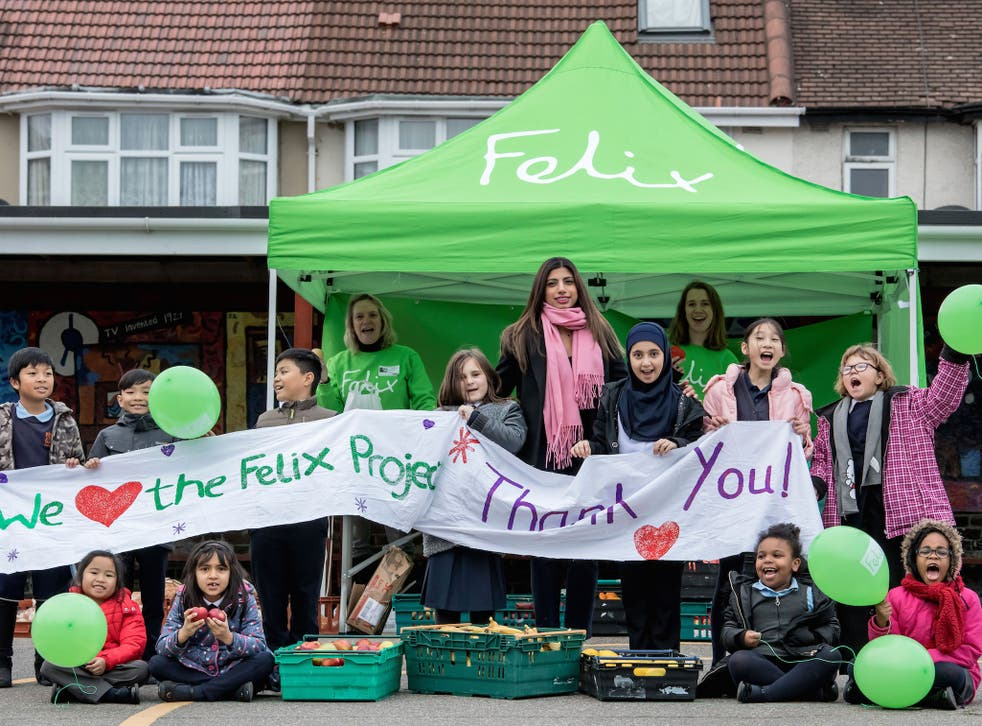 Children at Stanhope Primary School in Greenford celebrate as our appeal reaches £500,000