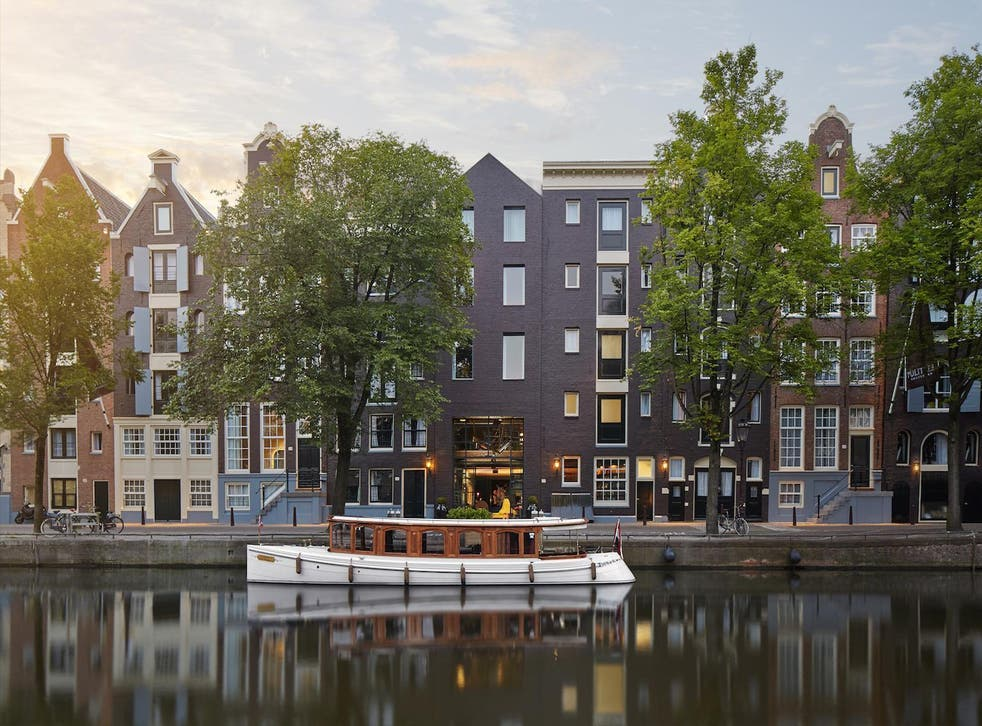 The Pulitzer is made up of a clutch of traditional canalside houses