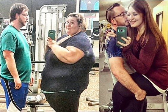 Obese couple shed half of body fat in months we have
