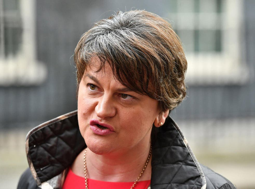 The DUP, led by Arlene Foster, spent a £425,000 donation on the Brexit campaign, and will not have to name the source of the money