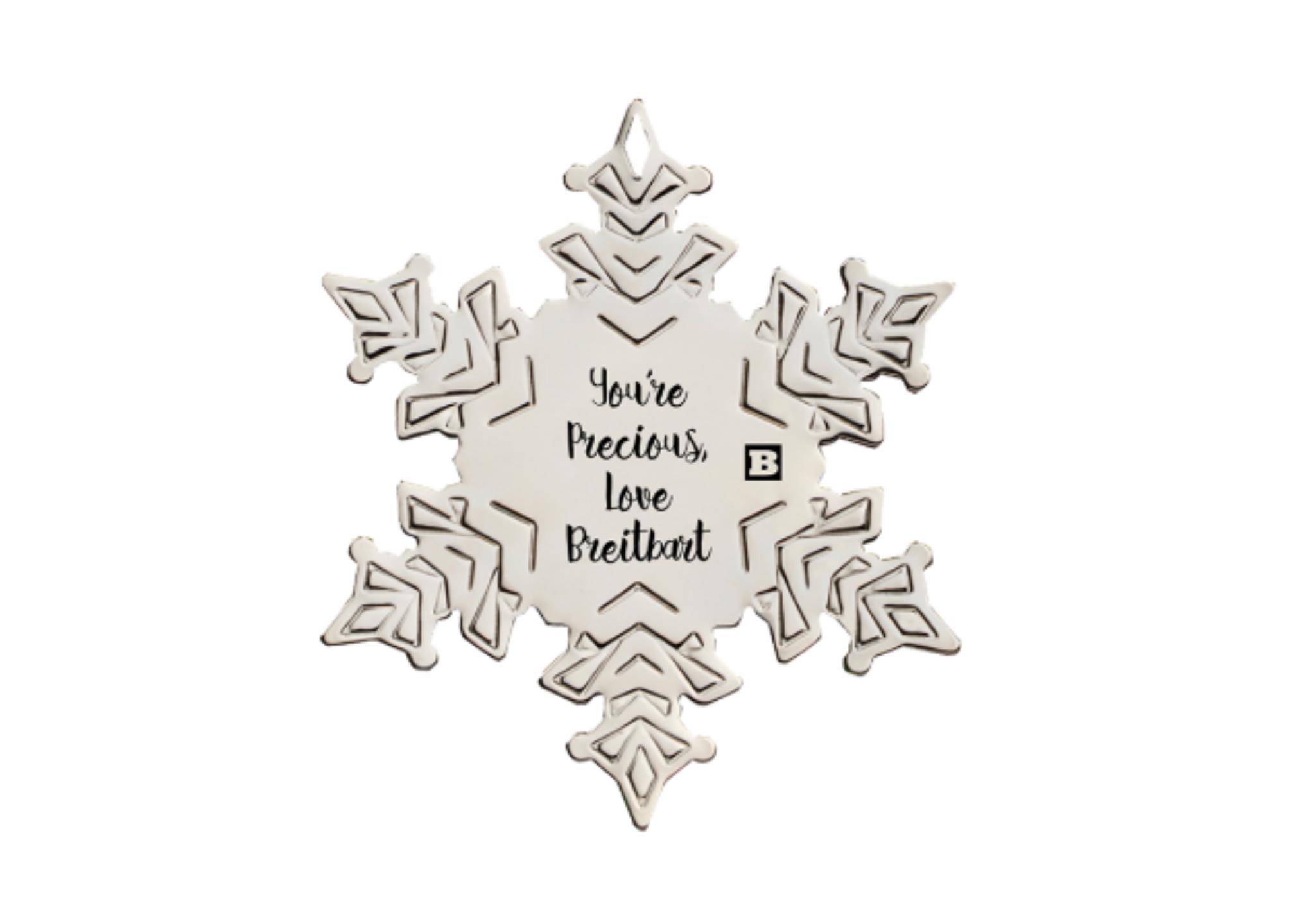 Breitbart Sells Precious Snowflake Tree Decoration To Troll