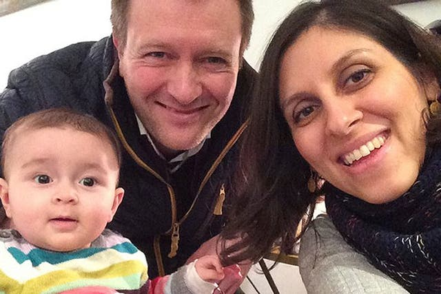 Nazanin Zaghari-Ratcliffe, seen here with her husband Richard and daughter Gabriella, remains in an Iranian jail two years after she was arrested while trying to return home from holiday