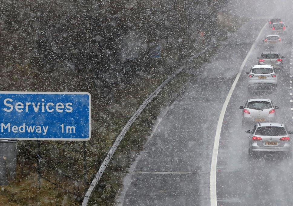 Car Insurance Claims Surge 50 As Drivers Battle Snow And Ice The