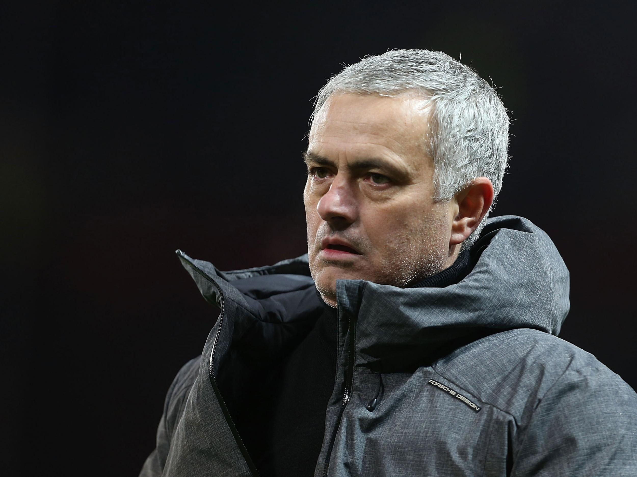 Manchester United manager Jose Mourinho in furious clash with Manchester City players after derby