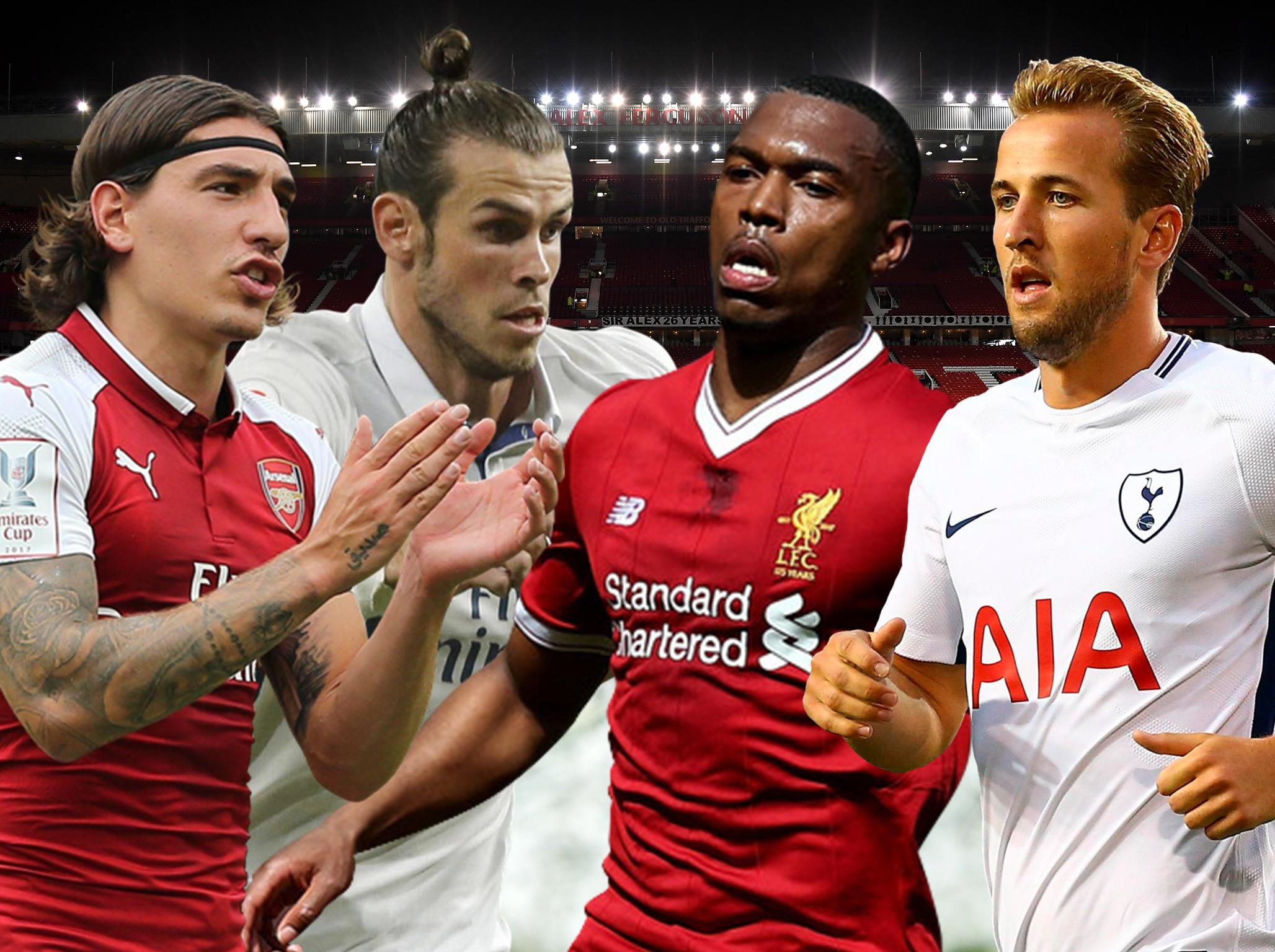 Transfer news live: Arsenal and Liverpool face losing stars as Manchester United and Spurs line-up Gareth Bale bid