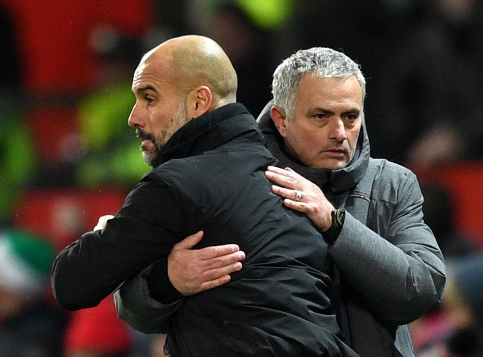Guardiola and Mourinho's rivalry has become increasingly one-sided