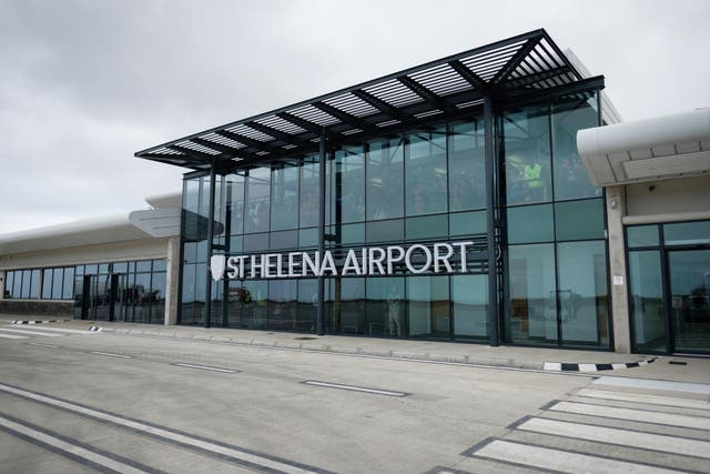 St Helena opened its airport this year