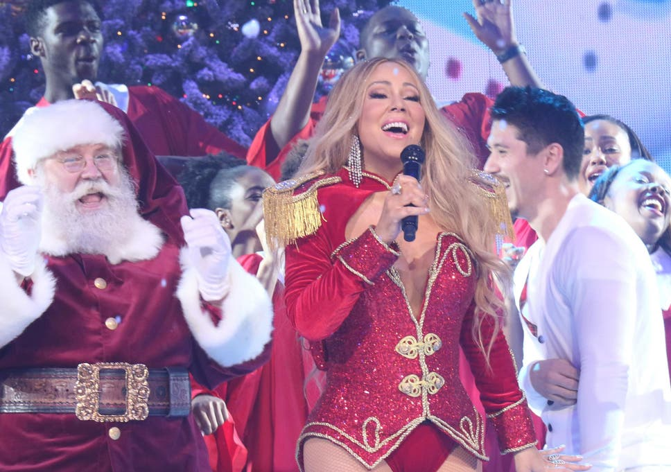 Mariah Carey Christmas.She May Be The Queen Of Christmas But Mariah Carey Is Not
