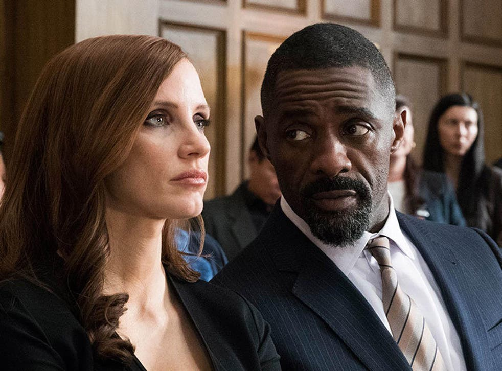 Jessica Chastain and Idris Elba star in Sorkin's blistering directorial debut