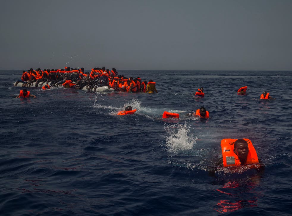 Marie-Michelle's son drowned in one of hundreds of disasters in the Mediterranean Sea
