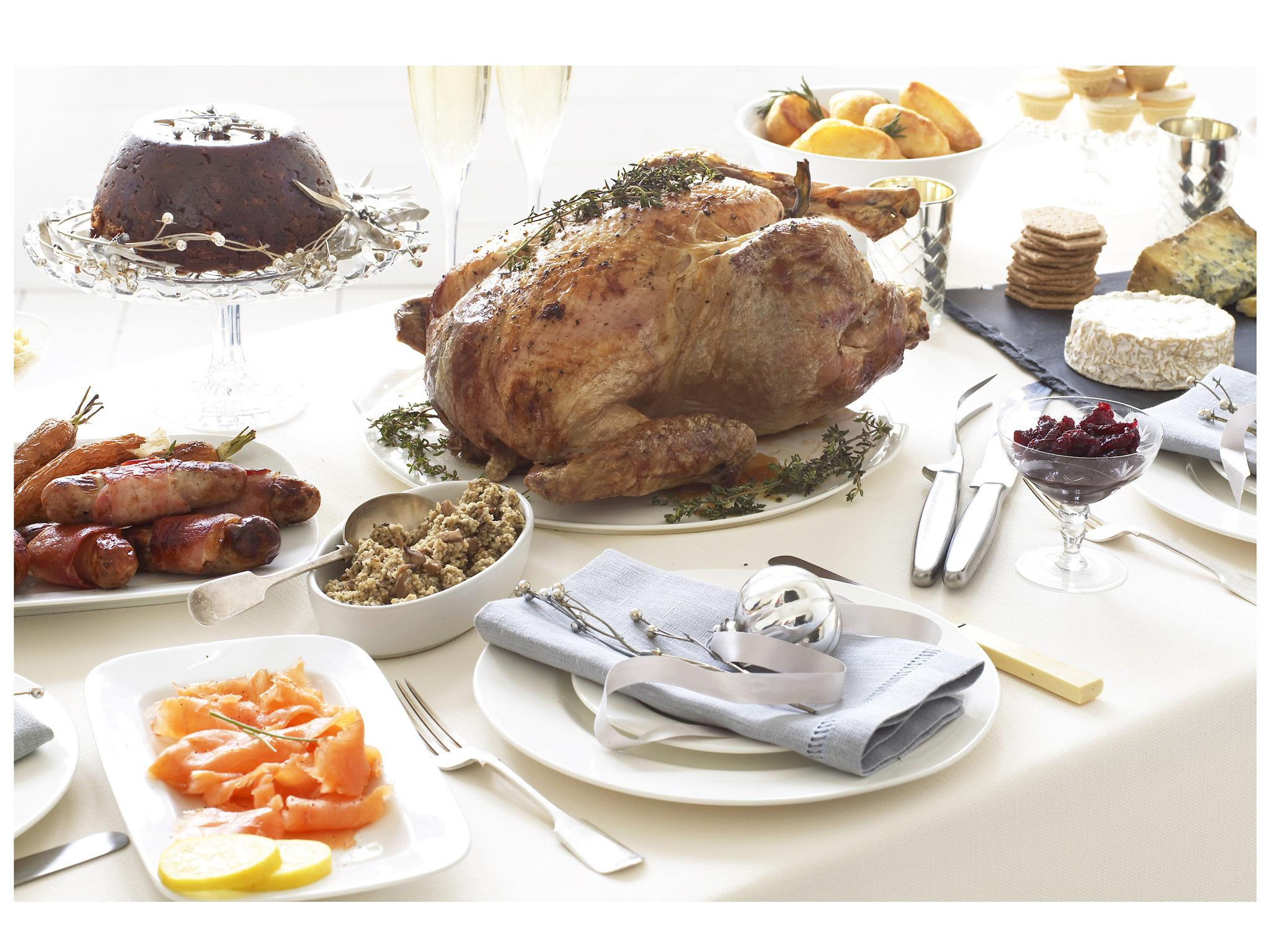 Premade Christmas Dinner.8 Best Christmas Food Boxes The Independent