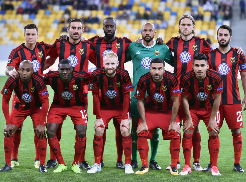 Ostersund before their group match against Zorya in September