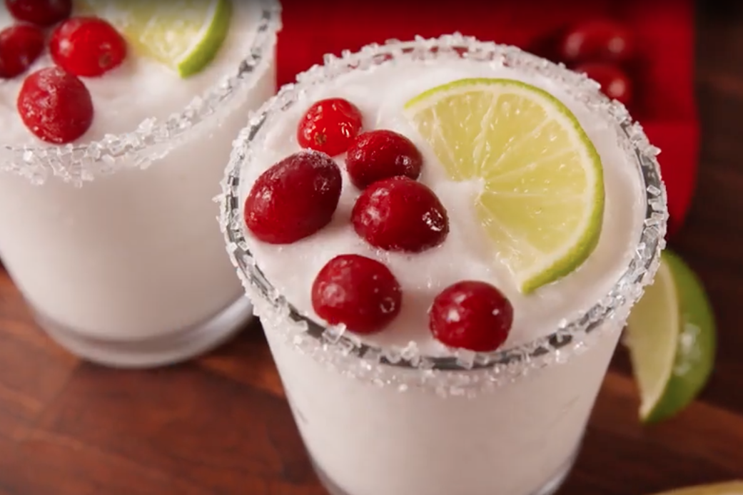 White Christmas Margaritas: The recipe that means you can drink cocktails all year round