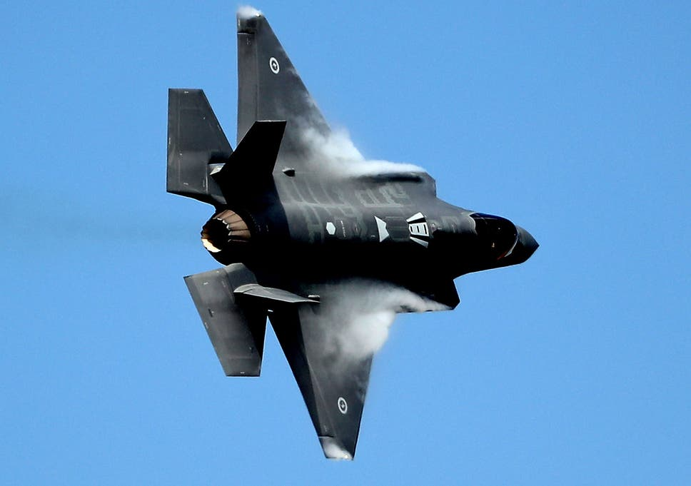 Japanese F-35 stealth fighter jet crashes into Pacific in