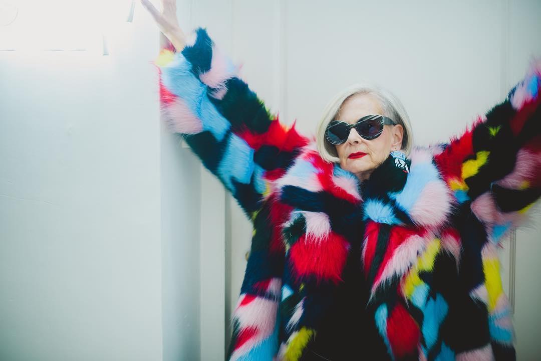 64-year-old woman becomes accidental fashion icon with over 300,000 Instagram followers