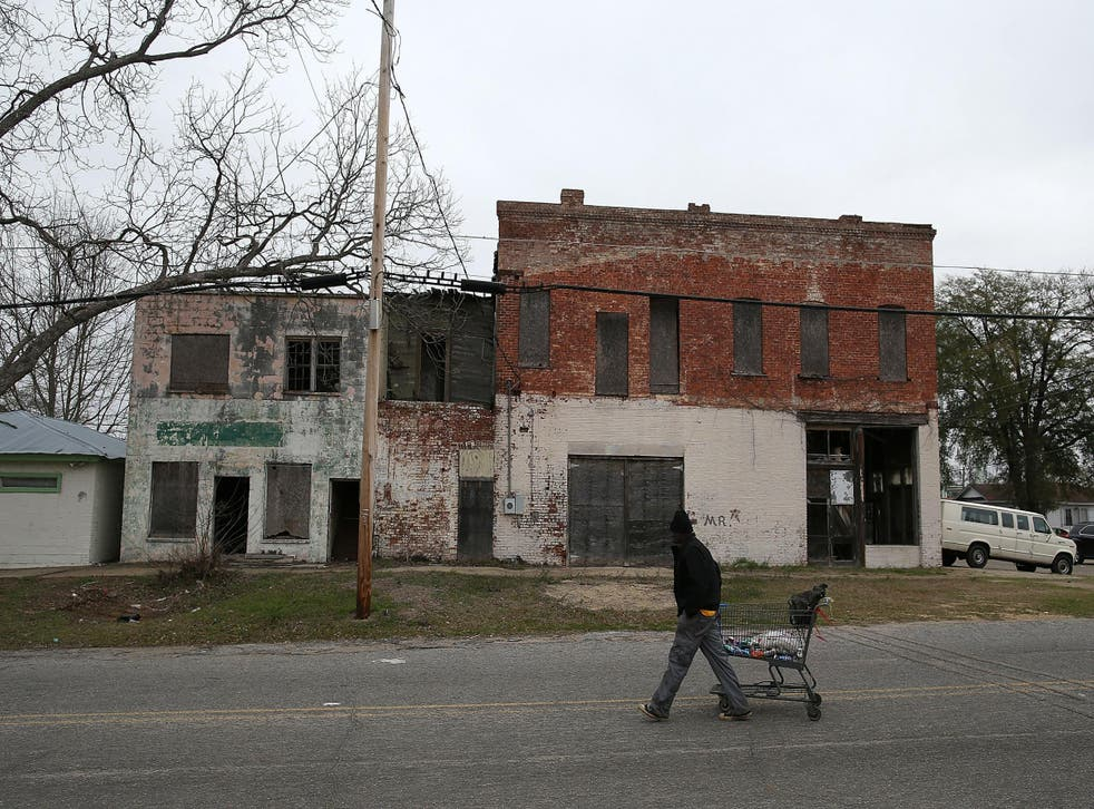 The historic city of Selma also suffers from considerable poverty
