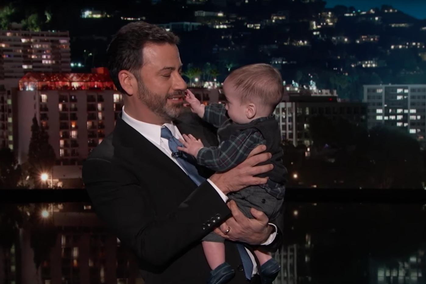 Jimmy Kimmel made an emotional return to his show with the ...