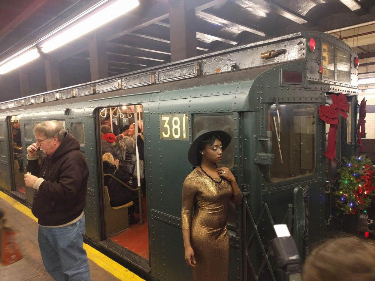 New York City has a secret subway line with antique cars - here's what it's like to ride it