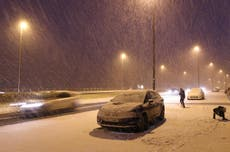 Last night was coldest of 2017 as temperatures fall to low of -13C