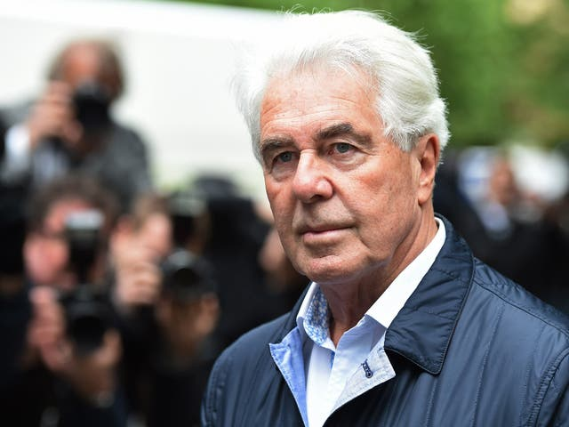 Max Clifford arrives at Southwark Crown Court in 2014