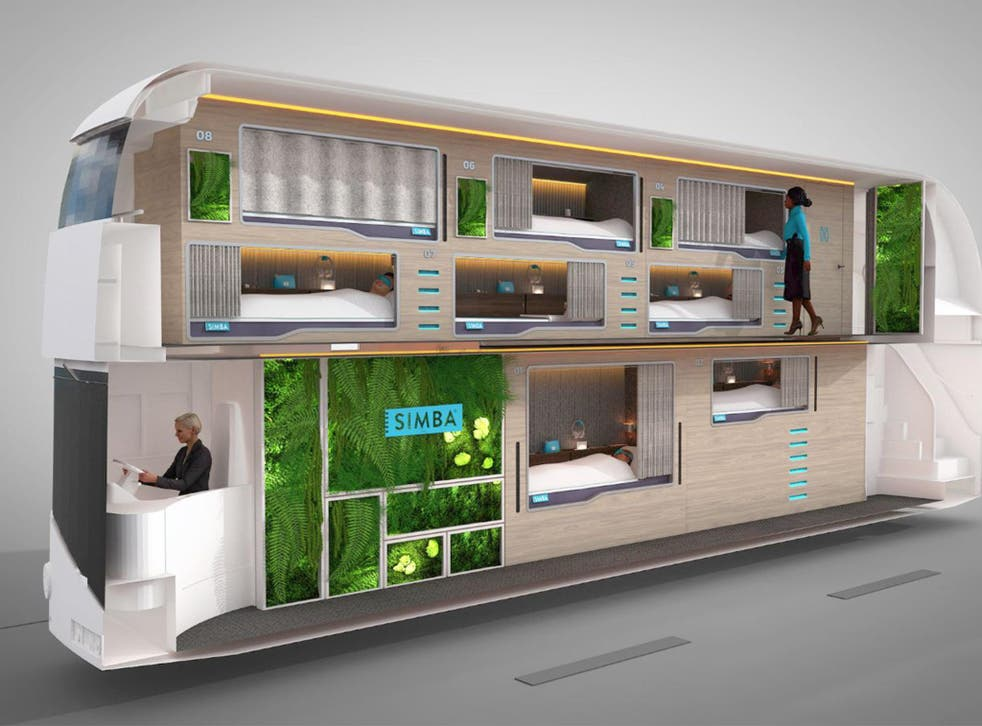The bus will help people catch up on valuable lost sleep time